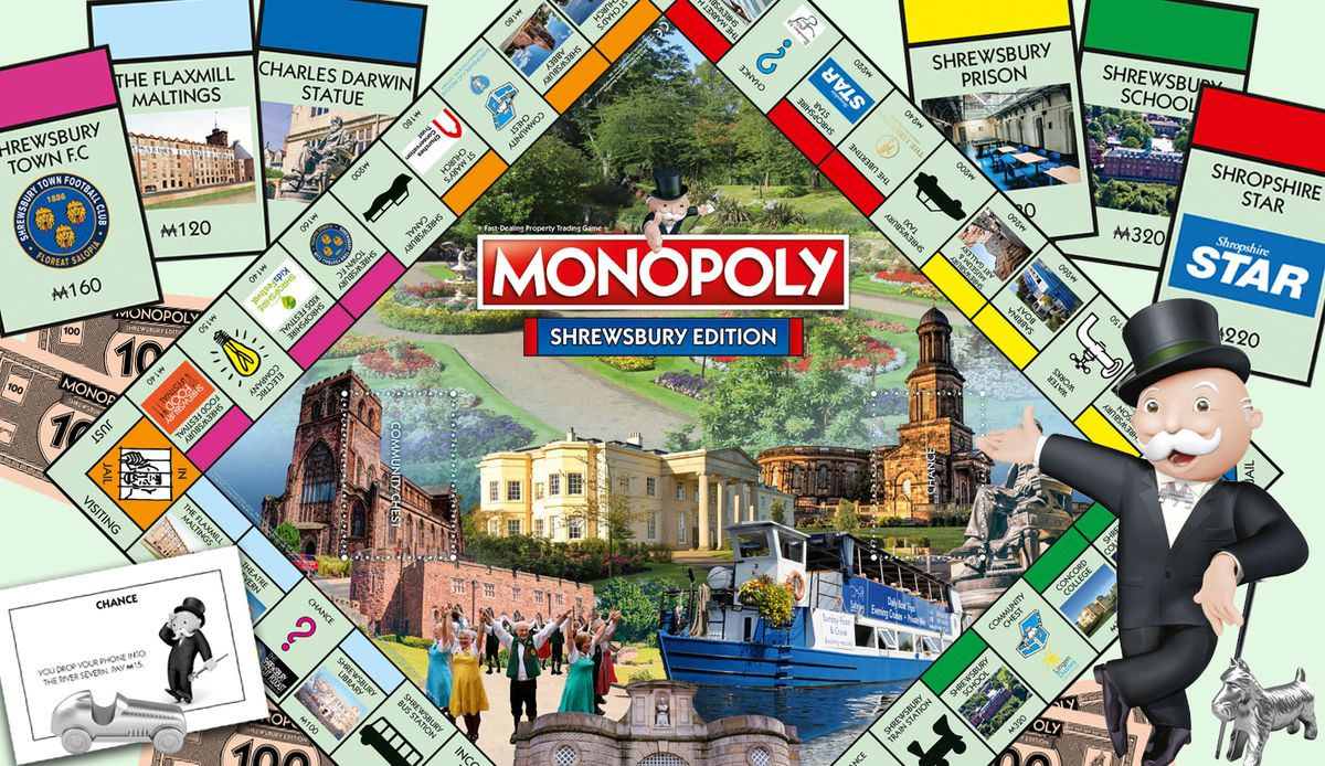 Shrewsbury Monopoly