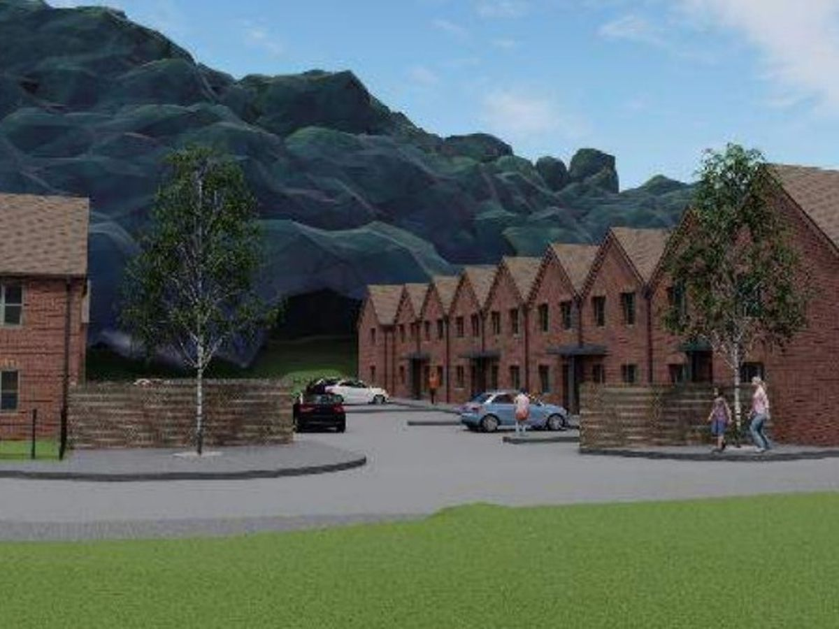 An artist's impression of how the site could look
