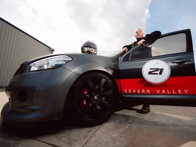 WATCH: Shropshire motor team scorches to world record with 237mph Nissan Qashqai