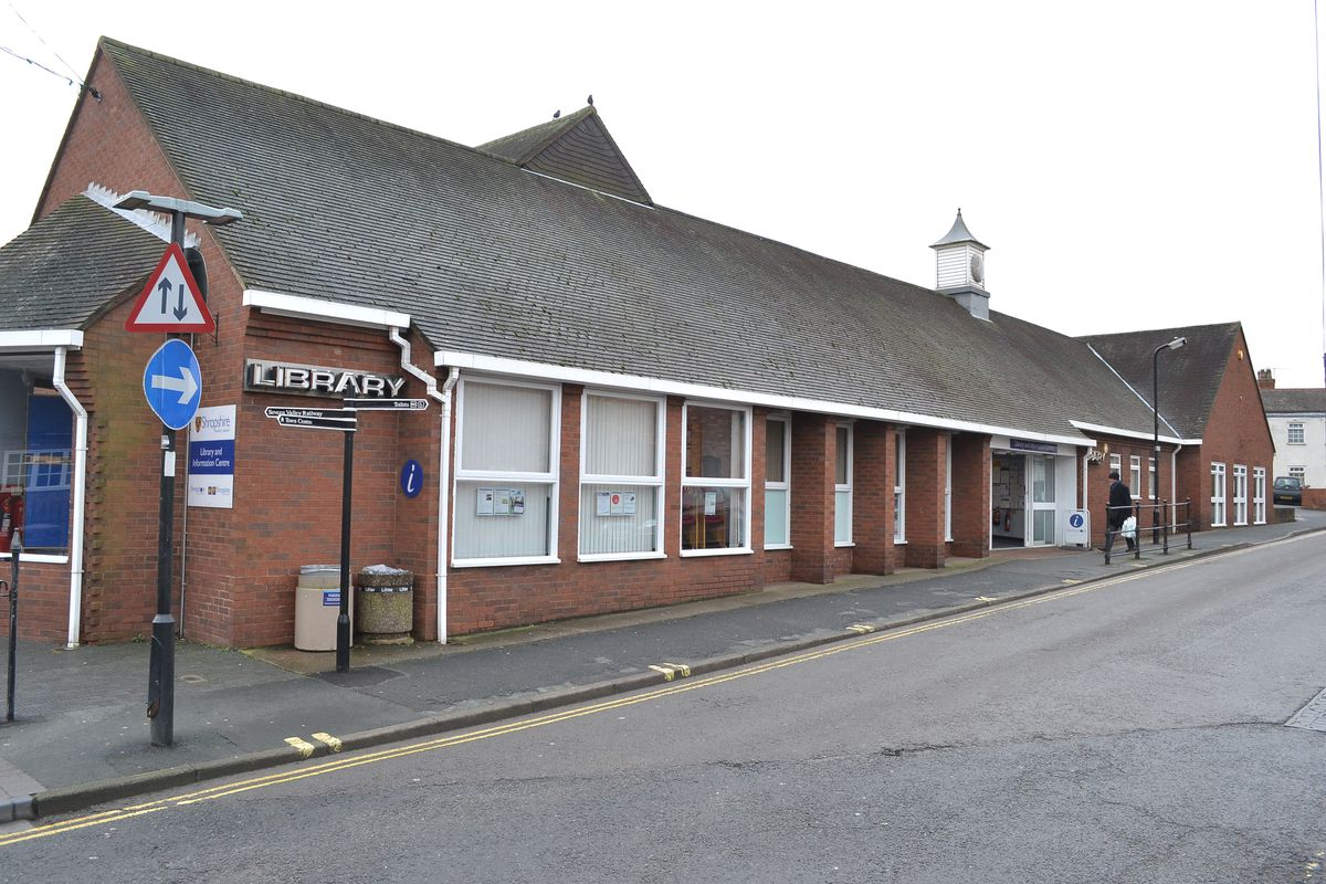 Bridgnorth Library in Listley Street