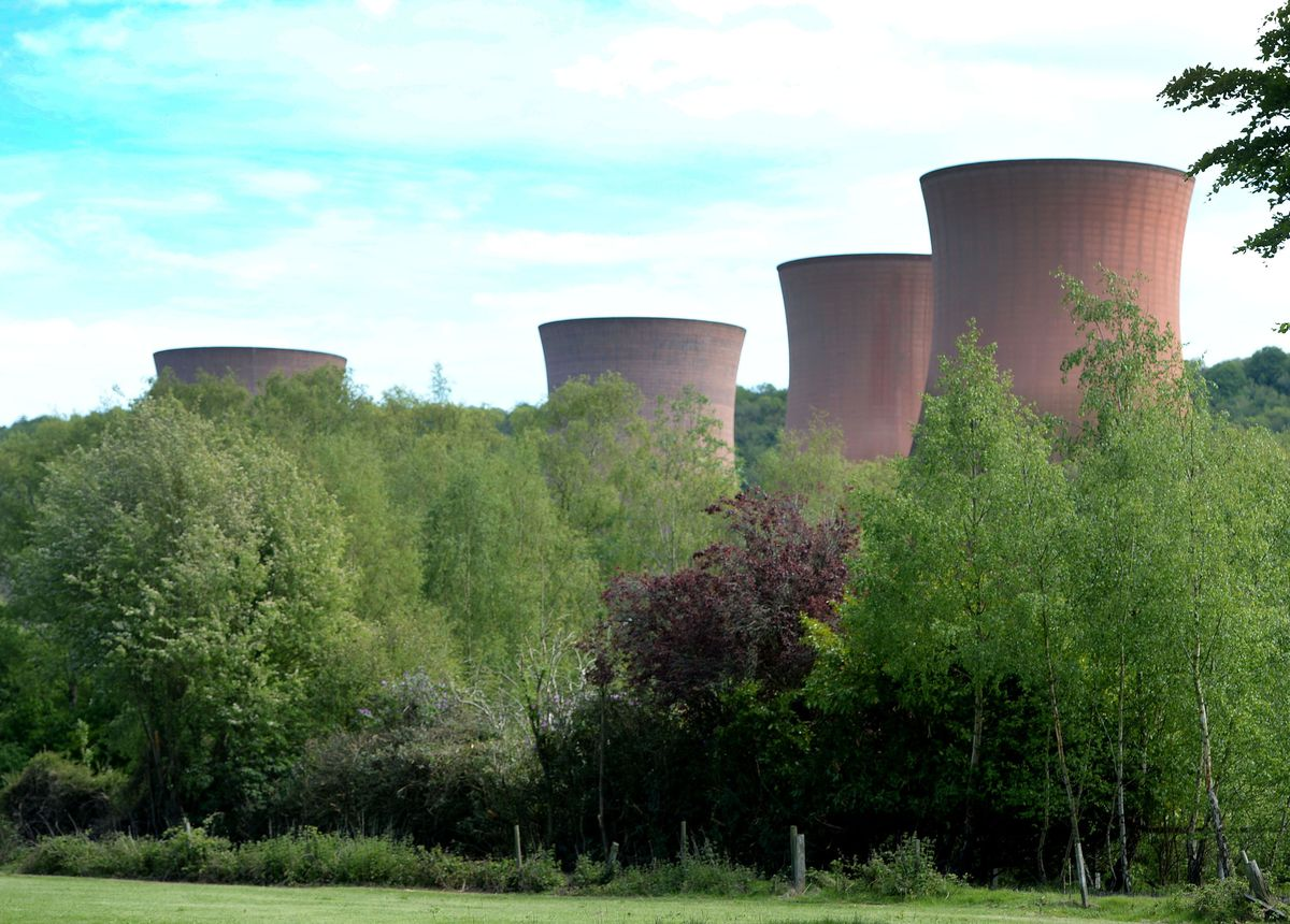 The Ironbridge cooling towers