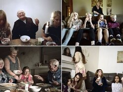 Britain at dinner time: Intimate photos lay bare the reality of modern families in 2017 - not the myth