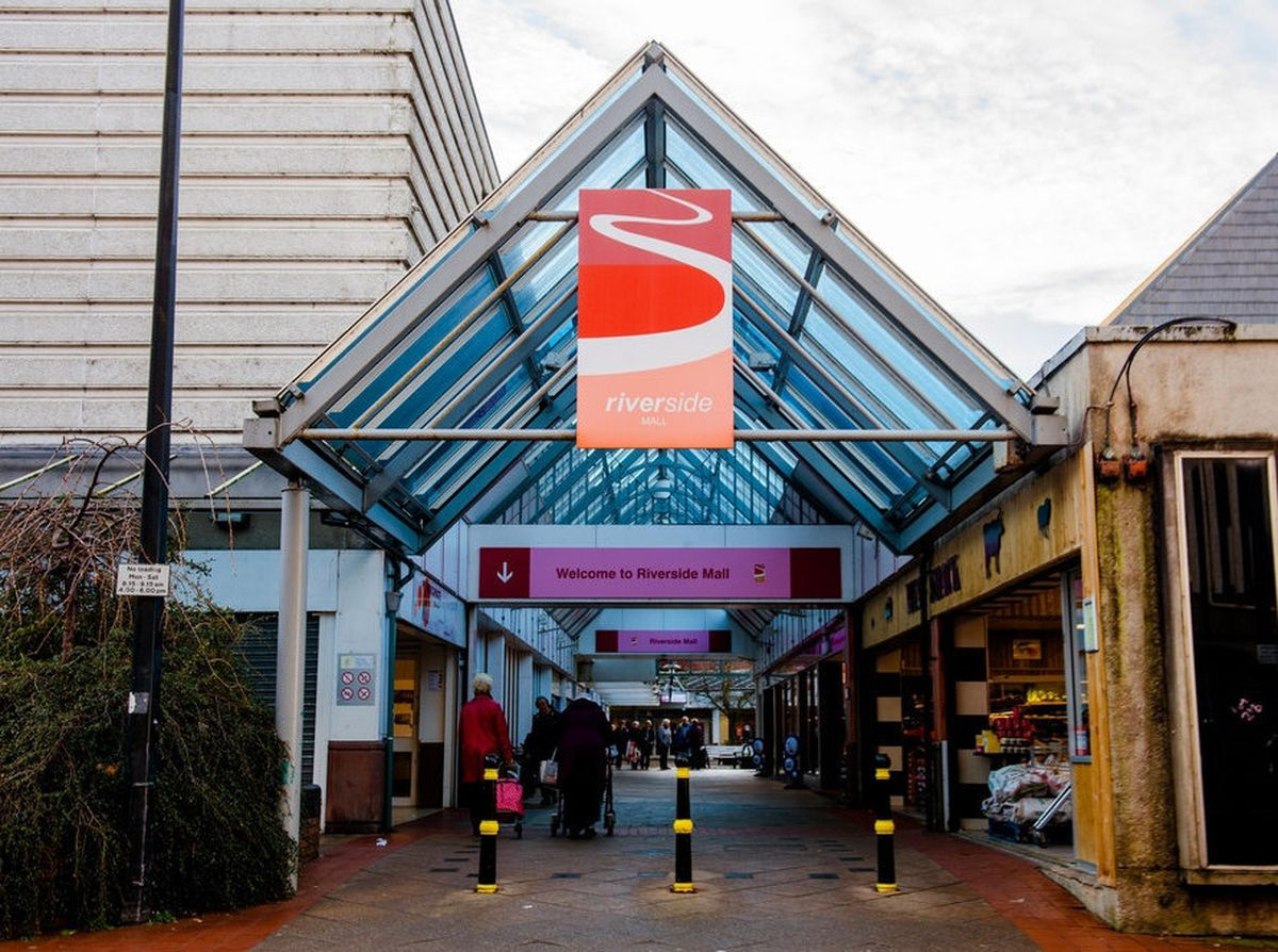 The Riverside shopping centre