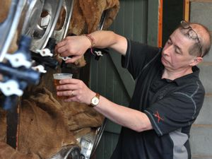Keith Bance, the manager at The Three Tuns Brewery, which is one of many places that takes part in the Bishops Castle Real Ale and Cider Trail