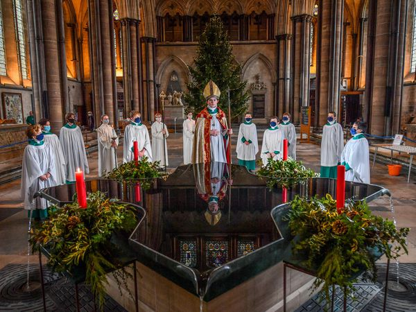 Chorister Bishop at Salisbury Cathedral