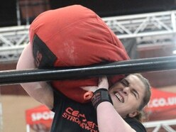 Kelly powers through Wales Strongest Woman event
