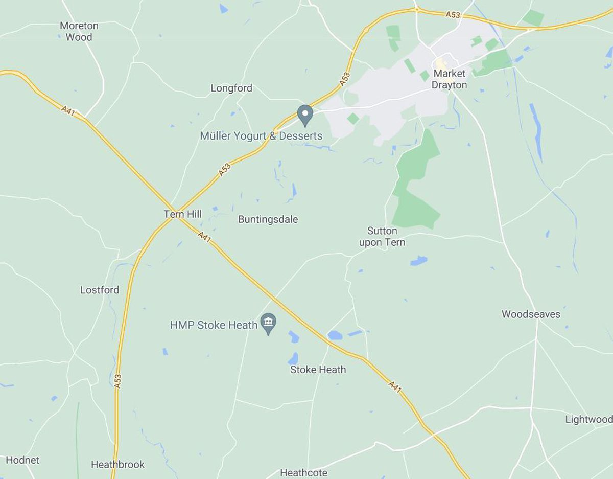 The litter pickers will clean up Hodnet, Tern Hill and Market Drayton. Photo: Google