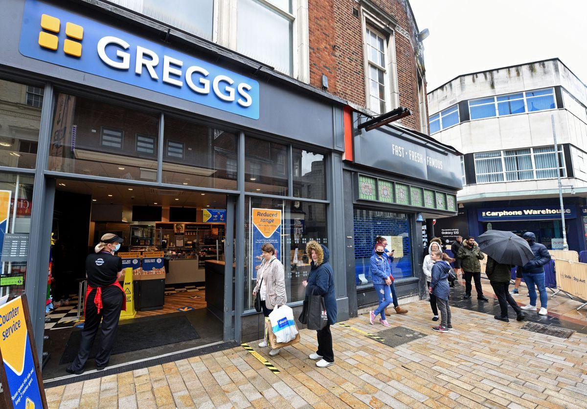 Greggs – A loss – how?