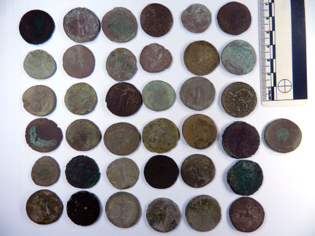 The Roman coins found at Hollyhurst near Whitchurch