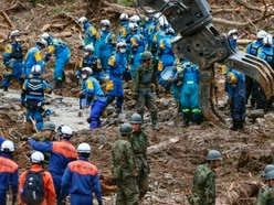 40 dead in Japan floods as more areas warned of heavy rain