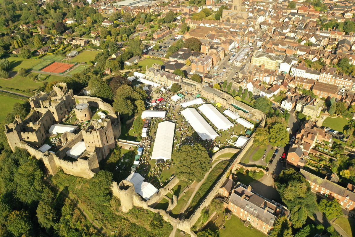 Ludlow Food Festival is returning to Ludlow Castle. Photo: Danny Griffiths