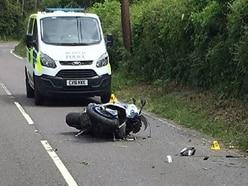 Powys 'worst for motorbike crashes'