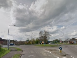 Four injured in three-car crash on A41 at Ternhill