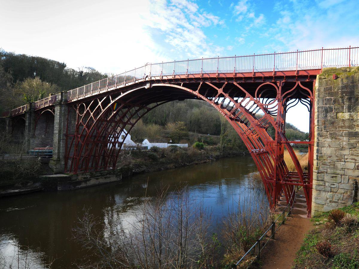 Ironbridge has been rated one of the UK's top destinations