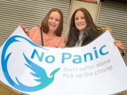 Mental health charity No Panic to set up shop in Telford