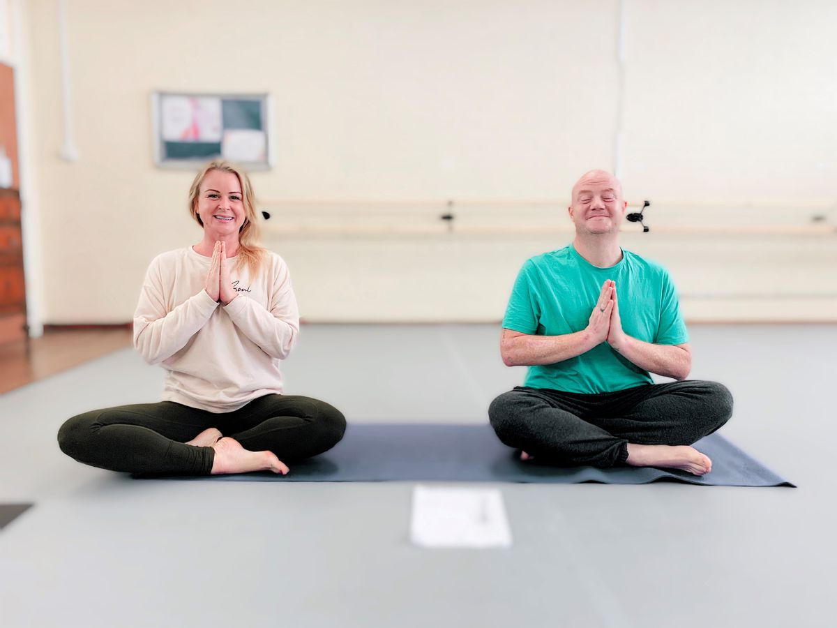 Yoga4Health is working with homeless people in Shrewsbury