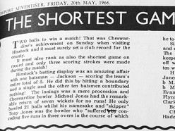 Shropshire's worst batting innings ever?