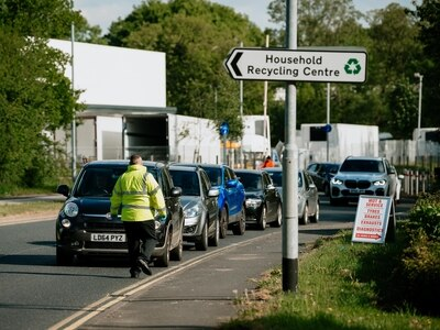 Mid Wales recycling centres set to reopen with strict restrictions
