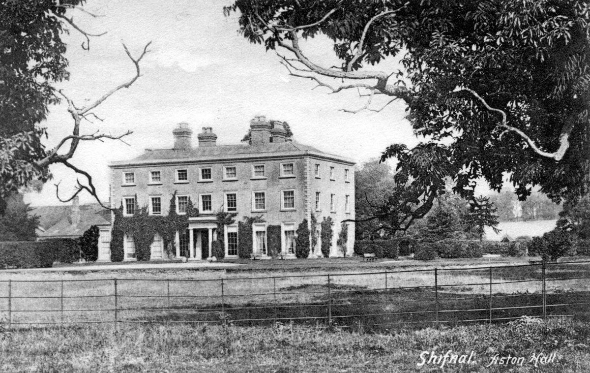 Aston Hall in Shifnal
