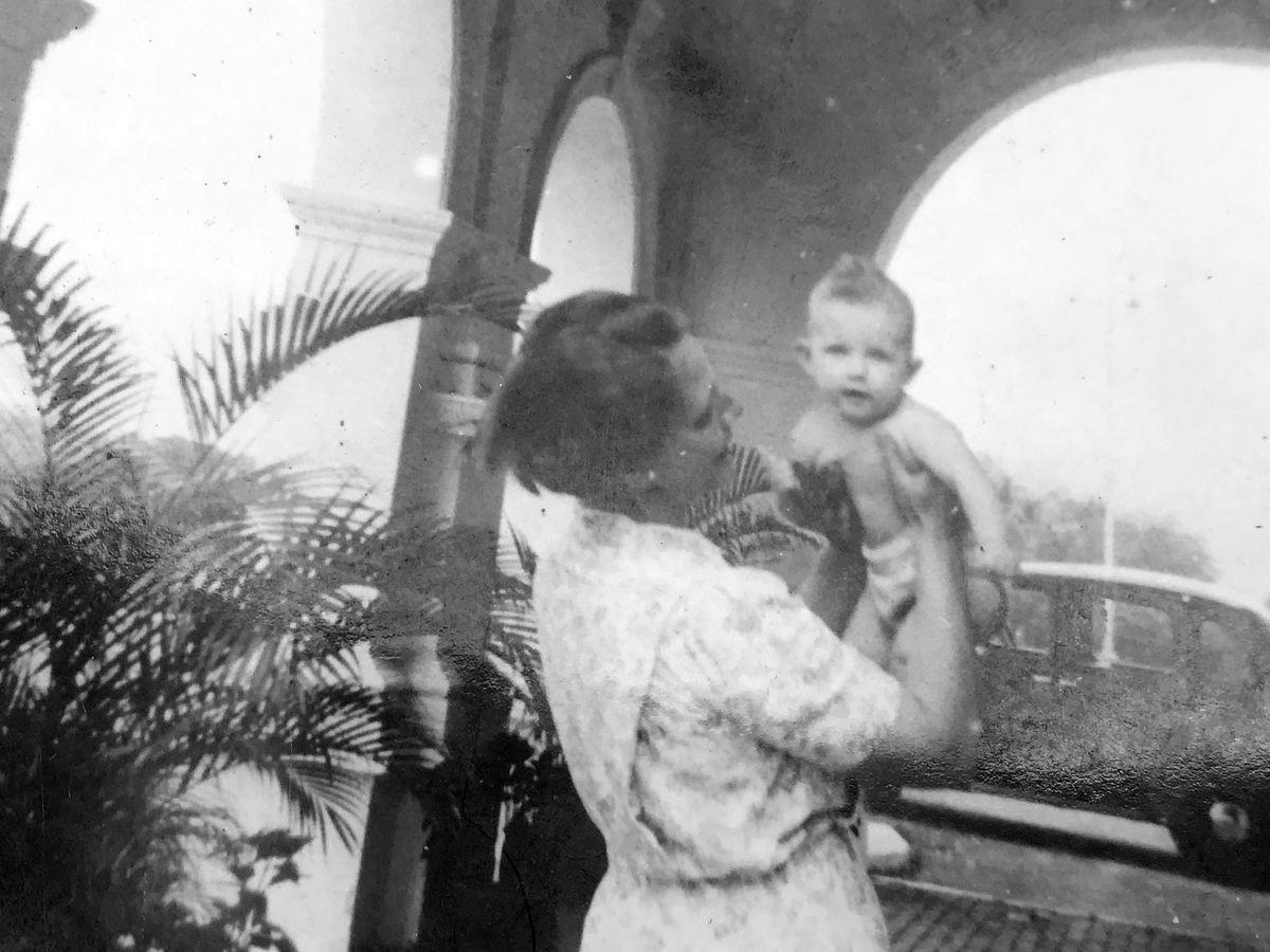 Baby Merryn with mum Molly