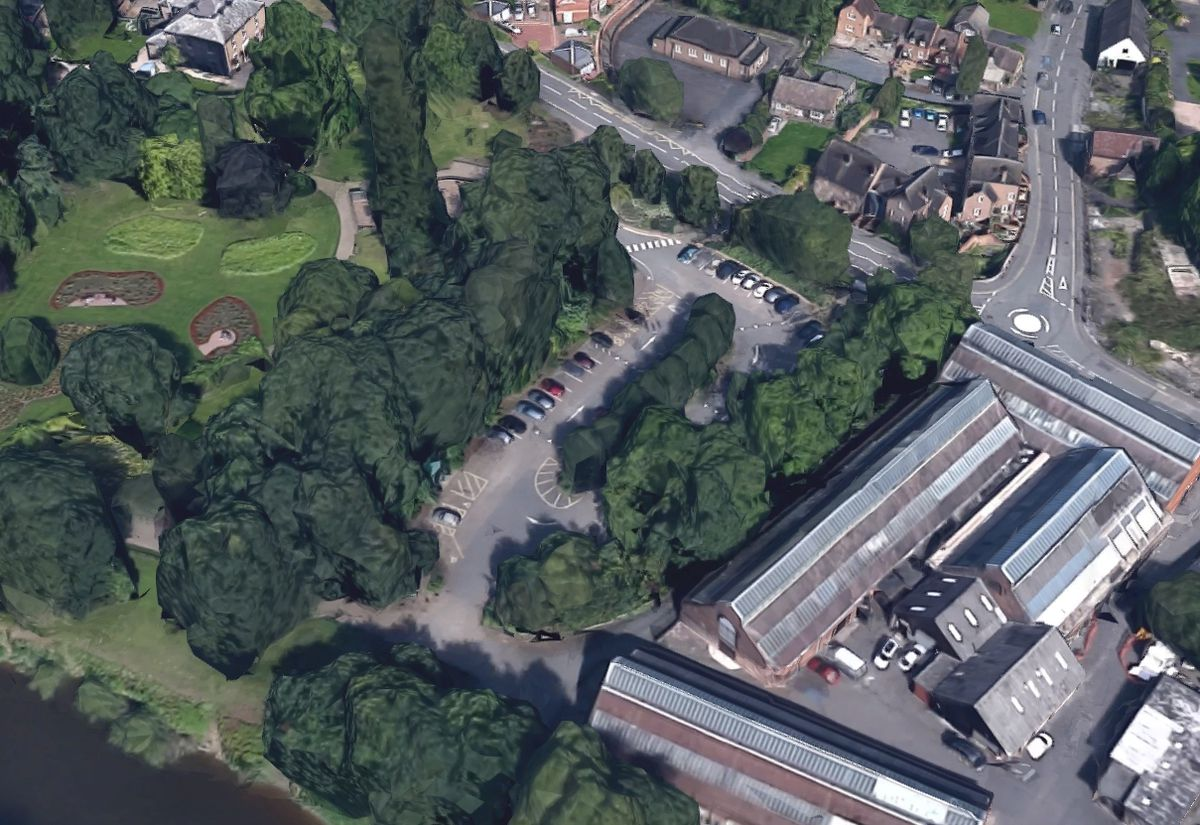 The boy was chased across Dale End Car Park, pictured. Photo: Google