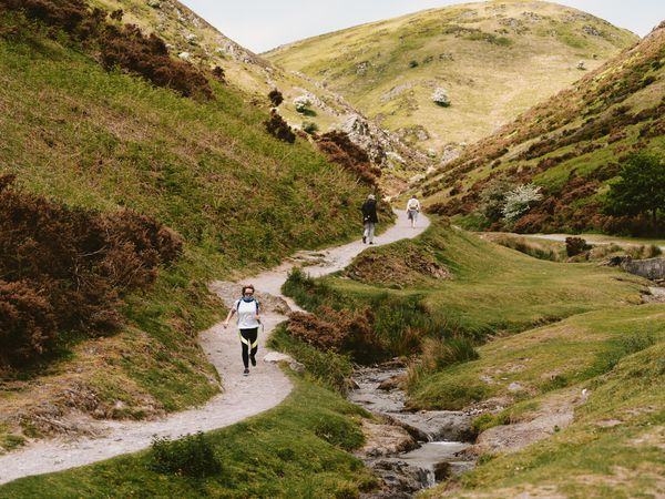 National Trust Carding Mill Valley in Church Stretton..