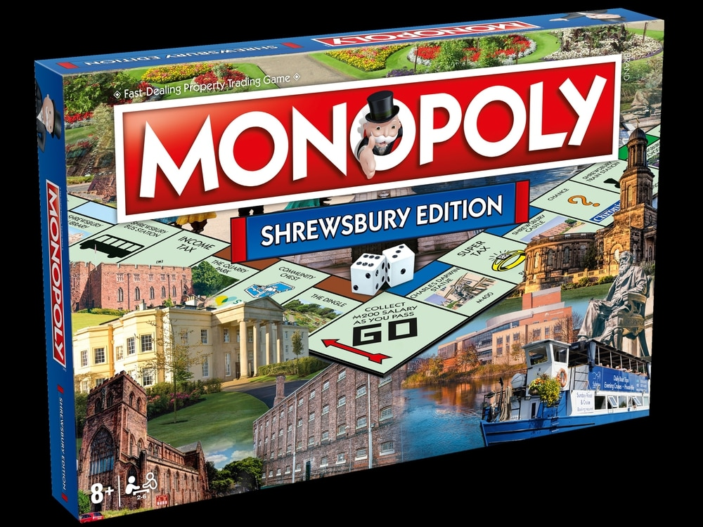 COMPETITION: Shrewsbury Monopoly games up for grabs