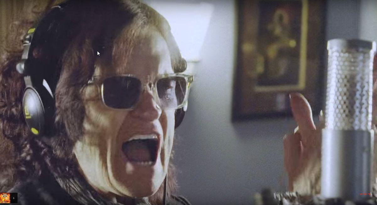 Glenn Hughes in a Black Country Communion music video