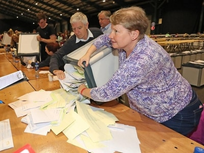 Council elections counting under way in Ireland