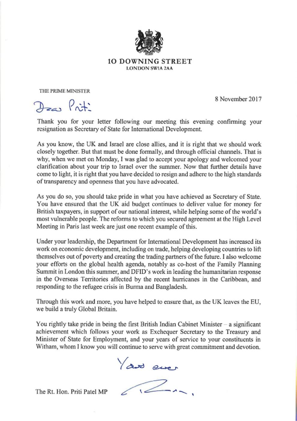 rescind job offer letter