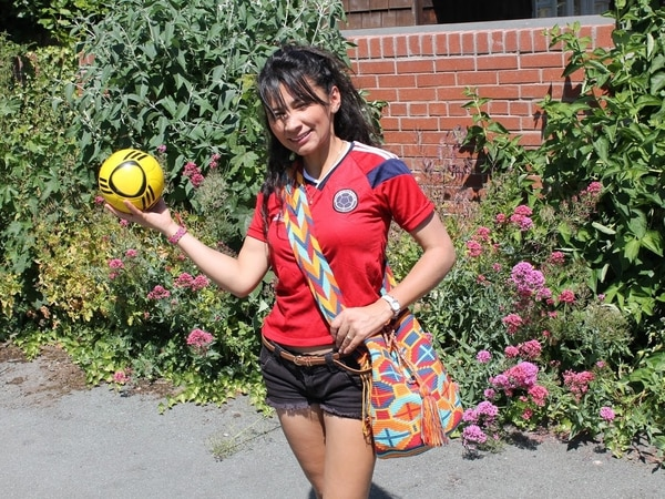 Forget St George – I'm backing Colombia: Divided loyalties in Shrewsbury household