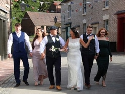 I now pronounce you Shelbys: What it's like to have a Peaky Blinders-themed wedding