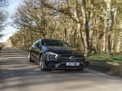 UK drive: The Mercedes CLS boasts comfort and refinement in a sleek package