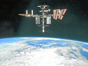 Blazing – the International Space Station