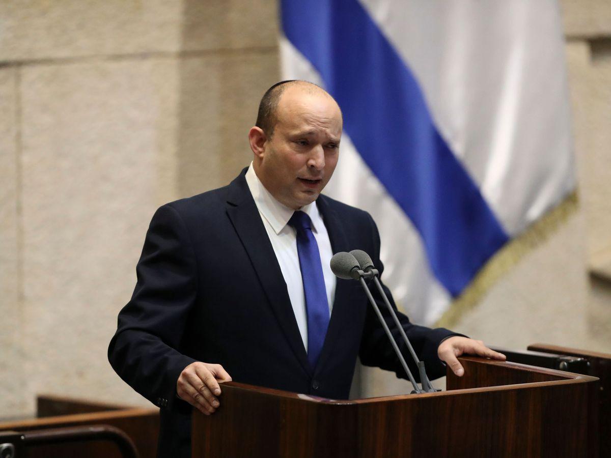 Israel's designated new prime minister Naftali Bennett