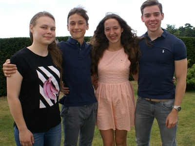 European teens come to study in county