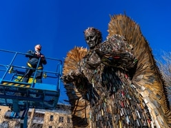 Knife Angel heading to Coventry on tour of UK