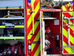 Firefighters free casualty after early-hours A41 crash