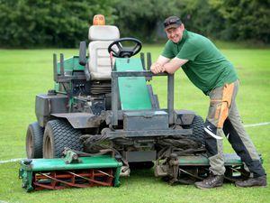 Jimmy The Mower nominated for award alongside Premier League groundsmen