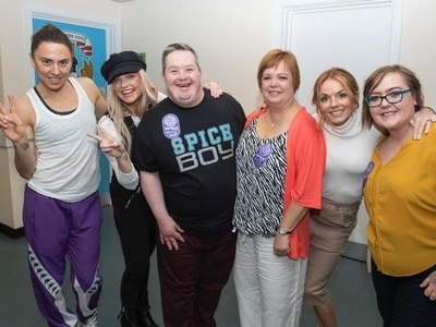 Spice Girls superfan meets iconic pop group ahead of Coventry show - in pictures