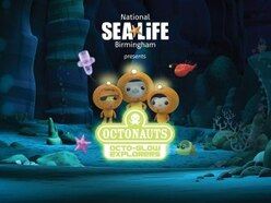 Join the Octonauts at National SEALIFE Centre Birmingham