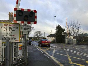 Man suffers 'life threatening' injuries after being hit by a train at Shrewsbury level crossing