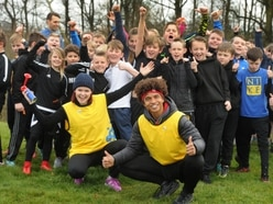 Shropshire pupils join Blue Peter presenters for Sport Relief challenge - with video and pictures