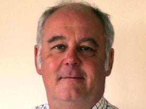 David Roberts, G O Davies (Westbury) Ltd grain merchants.