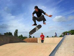 Bike track and skate park lined up for Llanfyllin