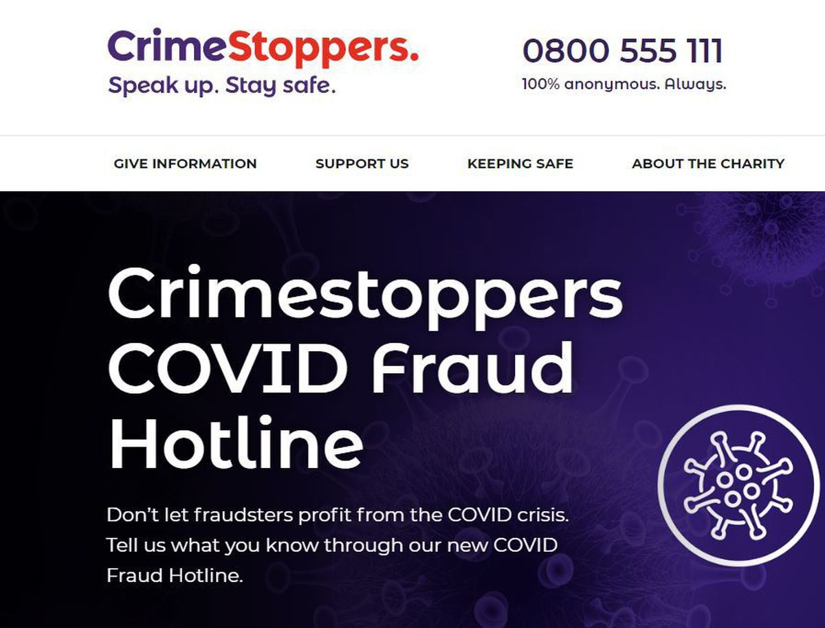 The Crimestoppers website