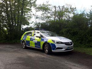 Police patrolling Much Wenlock. Photo: @WenlockCops