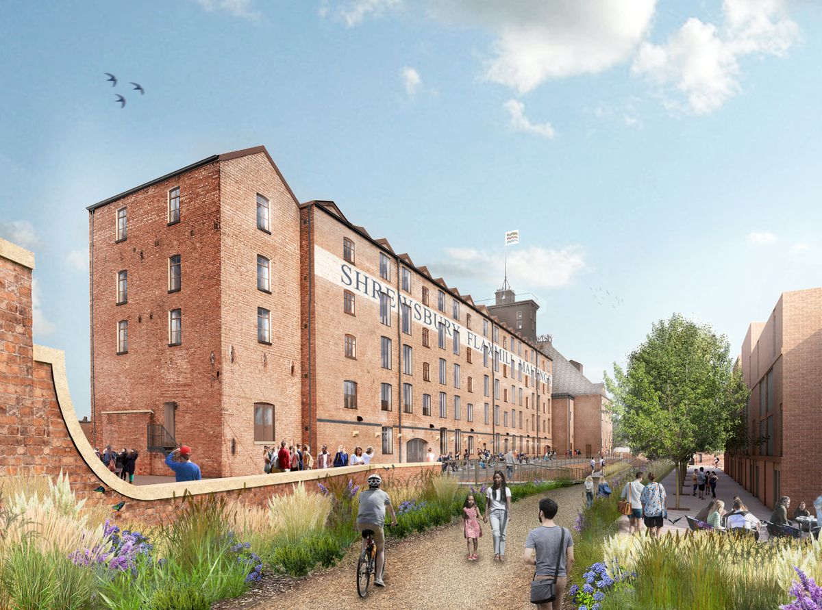 Historic England's vision of how the site could look. Picture: Feilden Clegg Bradley Studios