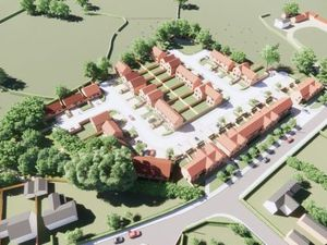 Computer image of proposed new Ifton Heath homes