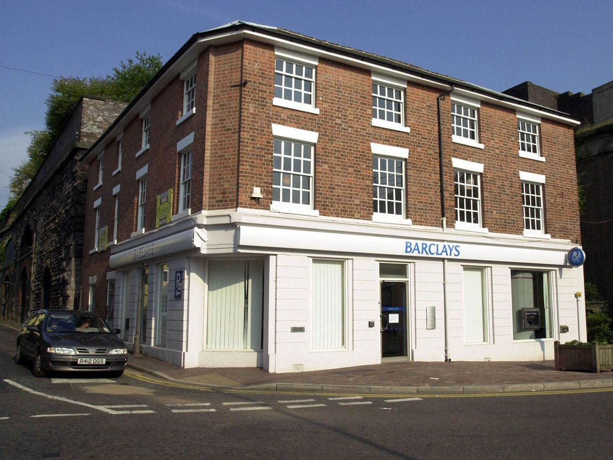 The former Barclays bank in Shifnal